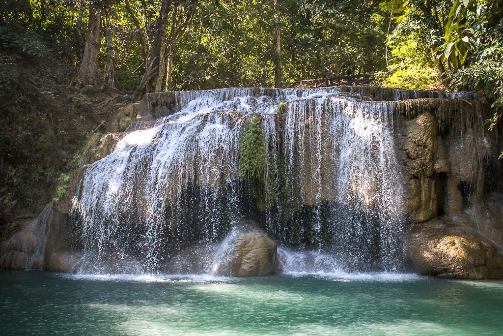 Erawan Waterfall Backgrounds on Wallpapers Vista