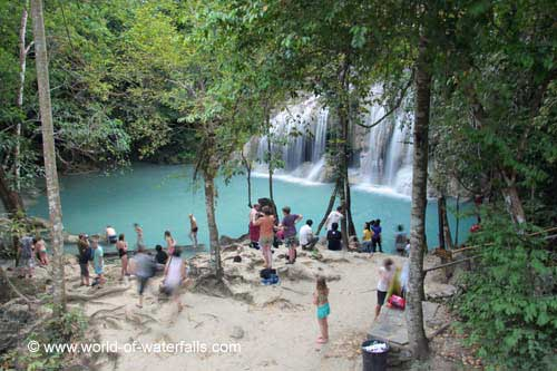 Erawan Waterfall #21
