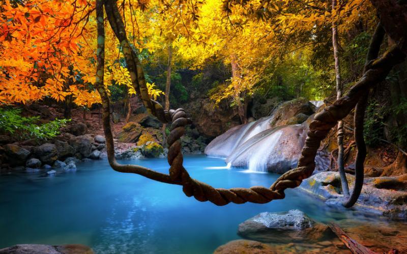 Erawan Waterfall #23