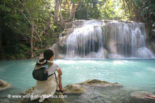 Erawan Waterfall #14