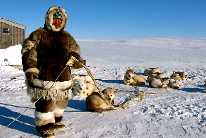 Nice Images Collection: Eskimo Desktop Wallpapers