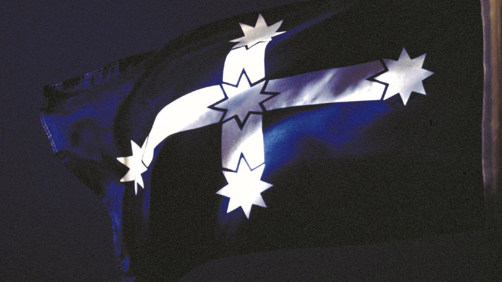 HD Quality Wallpaper | Collection: Misc, 1023x576 Eureka Flag