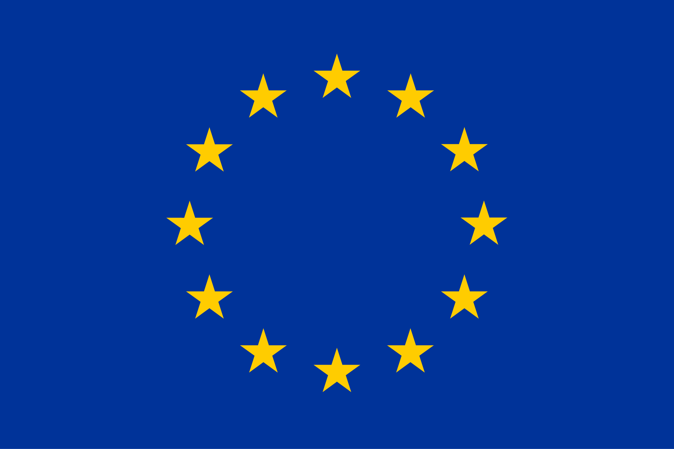 HD Quality Wallpaper | Collection: Misc, 2363x1576 European Union Flags