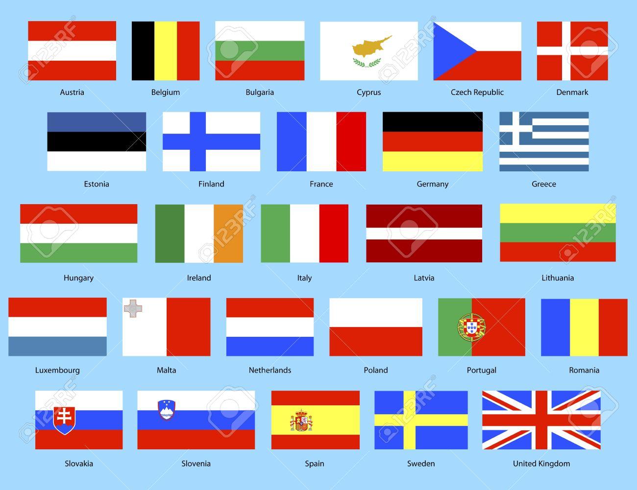 European Union Flags Backgrounds, Compatible - PC, Mobile, Gadgets| 1300x1001 px