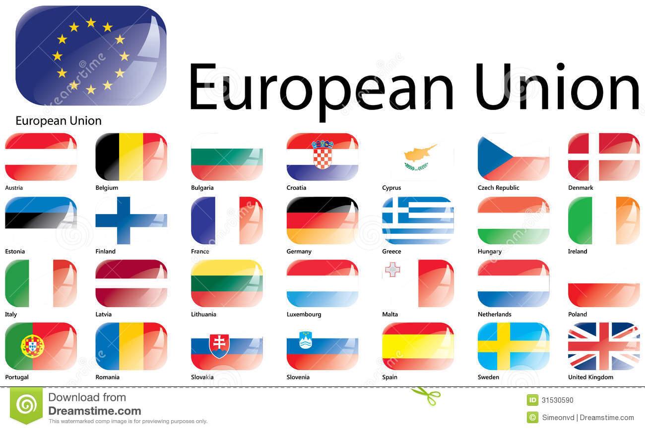 European Union Flags #4