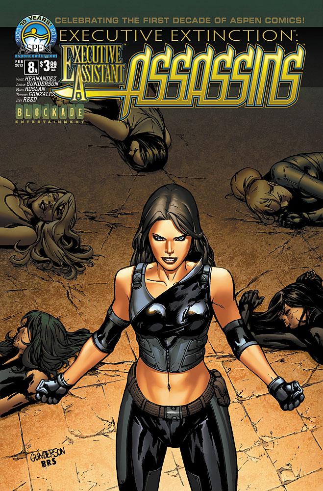 Executive Assistant: Assassins  Pics, Comics Collection