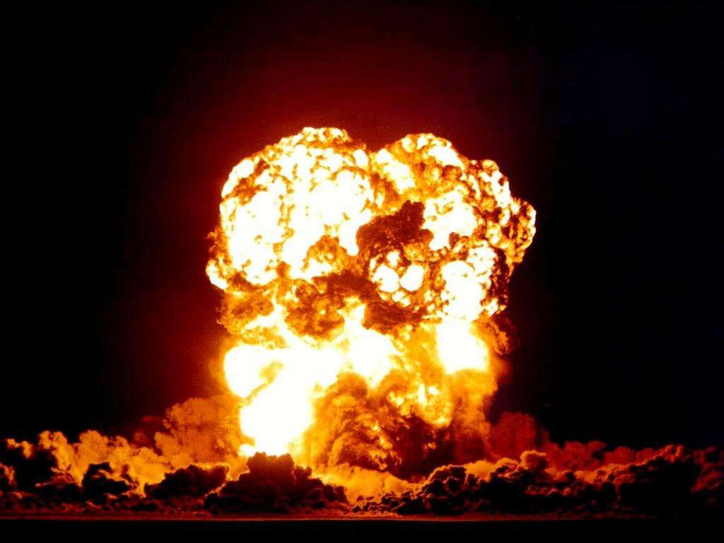 Nice Images Collection: Explosion Desktop Wallpapers