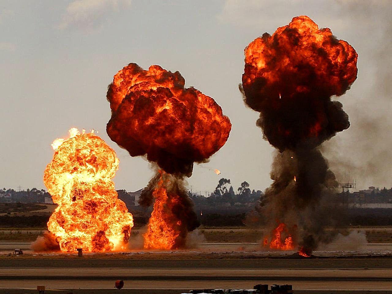 Explosions Backgrounds, Compatible - PC, Mobile, Gadgets| 1280x960 px