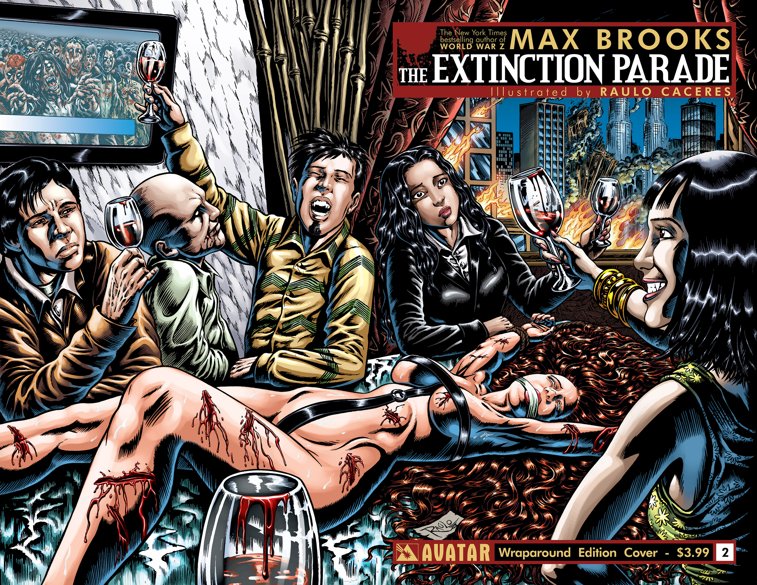 HQ Extinction Parade Wallpapers | File 2219.35Kb