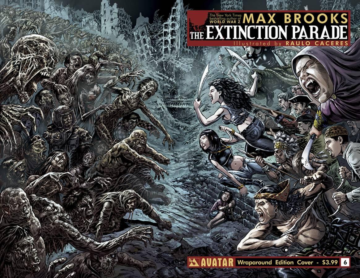 HD Quality Wallpaper | Collection: Comics, 1164x900 Extinction Parade