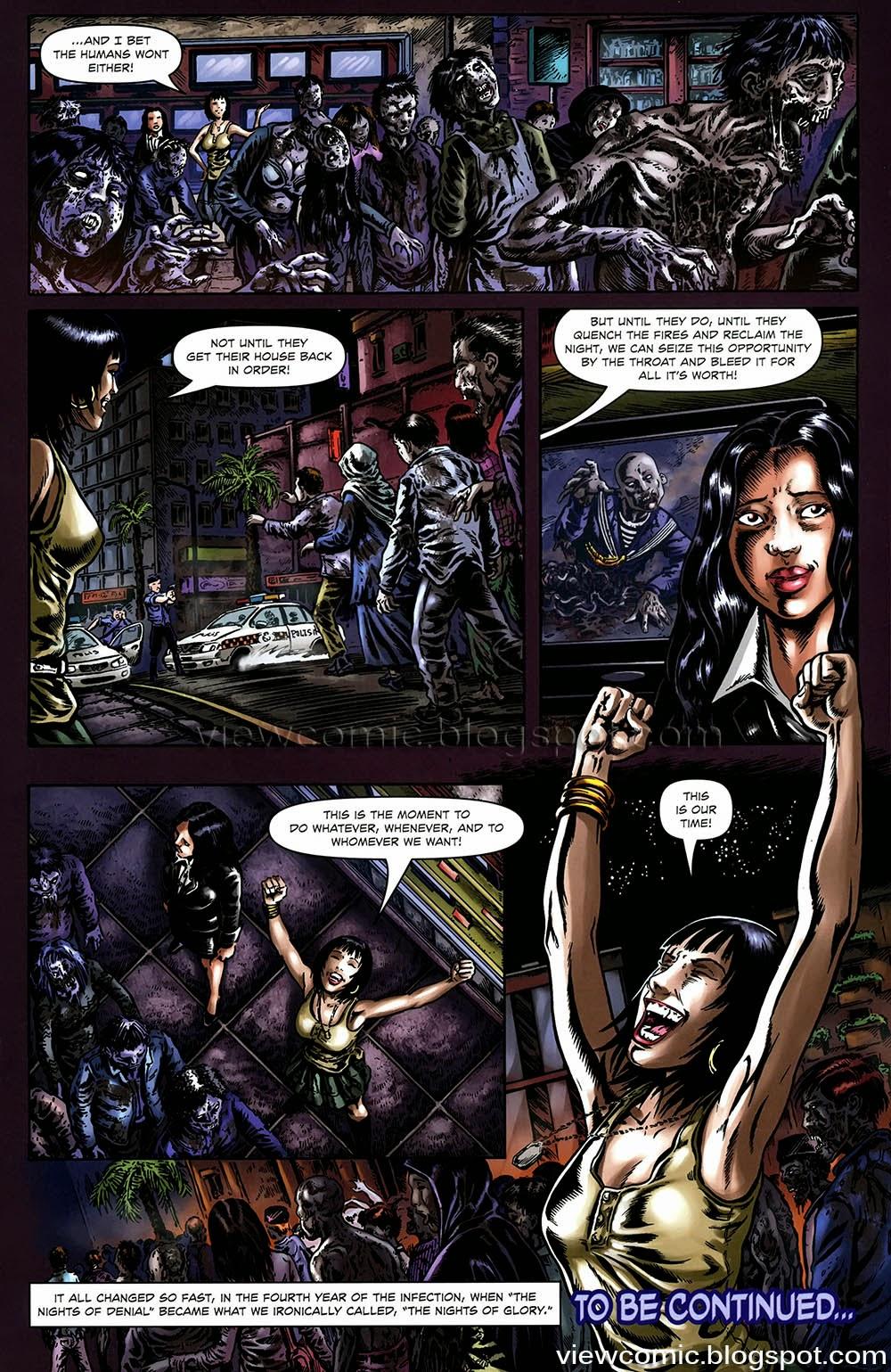Extinction Parade Pics, Comics Collection