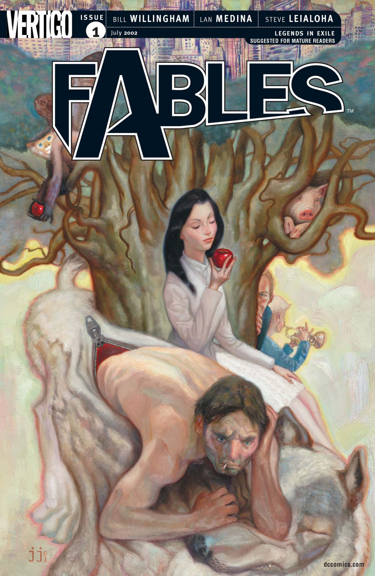 Nice wallpapers Fables 1210x1859px