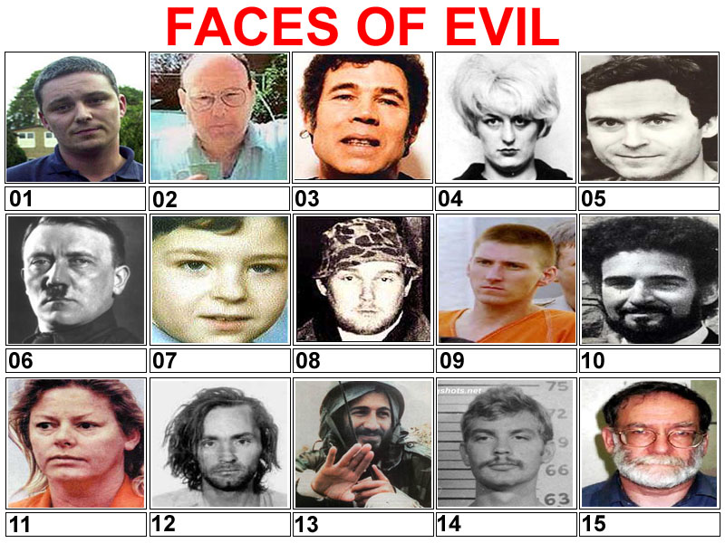 Nice Images Collection: Faces Of Evil Desktop Wallpapers