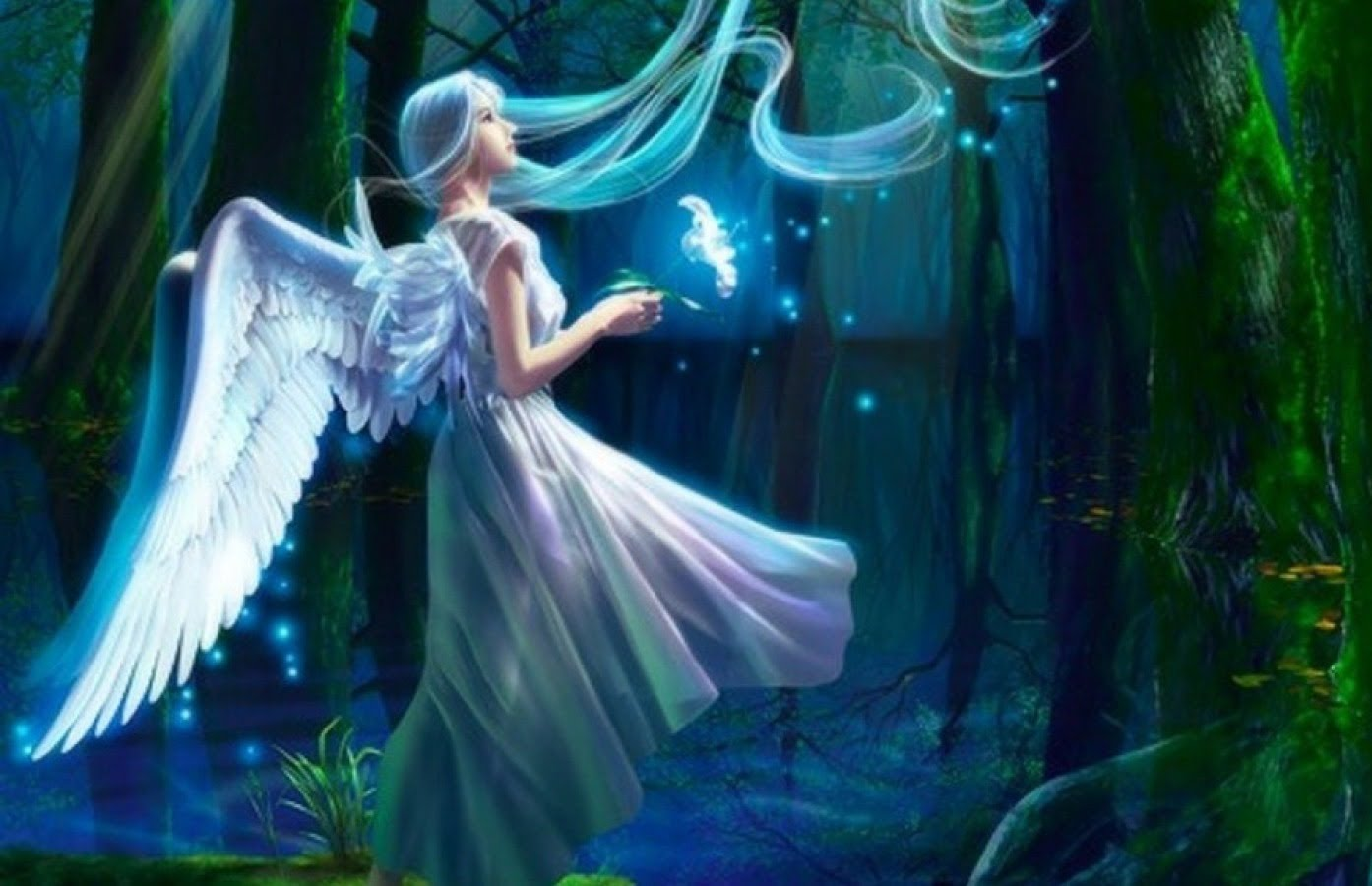 Nice wallpapers Fairy 1394x900px