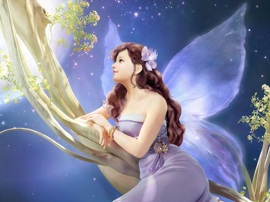 High Resolution Wallpaper | Fairy 1024x768 px