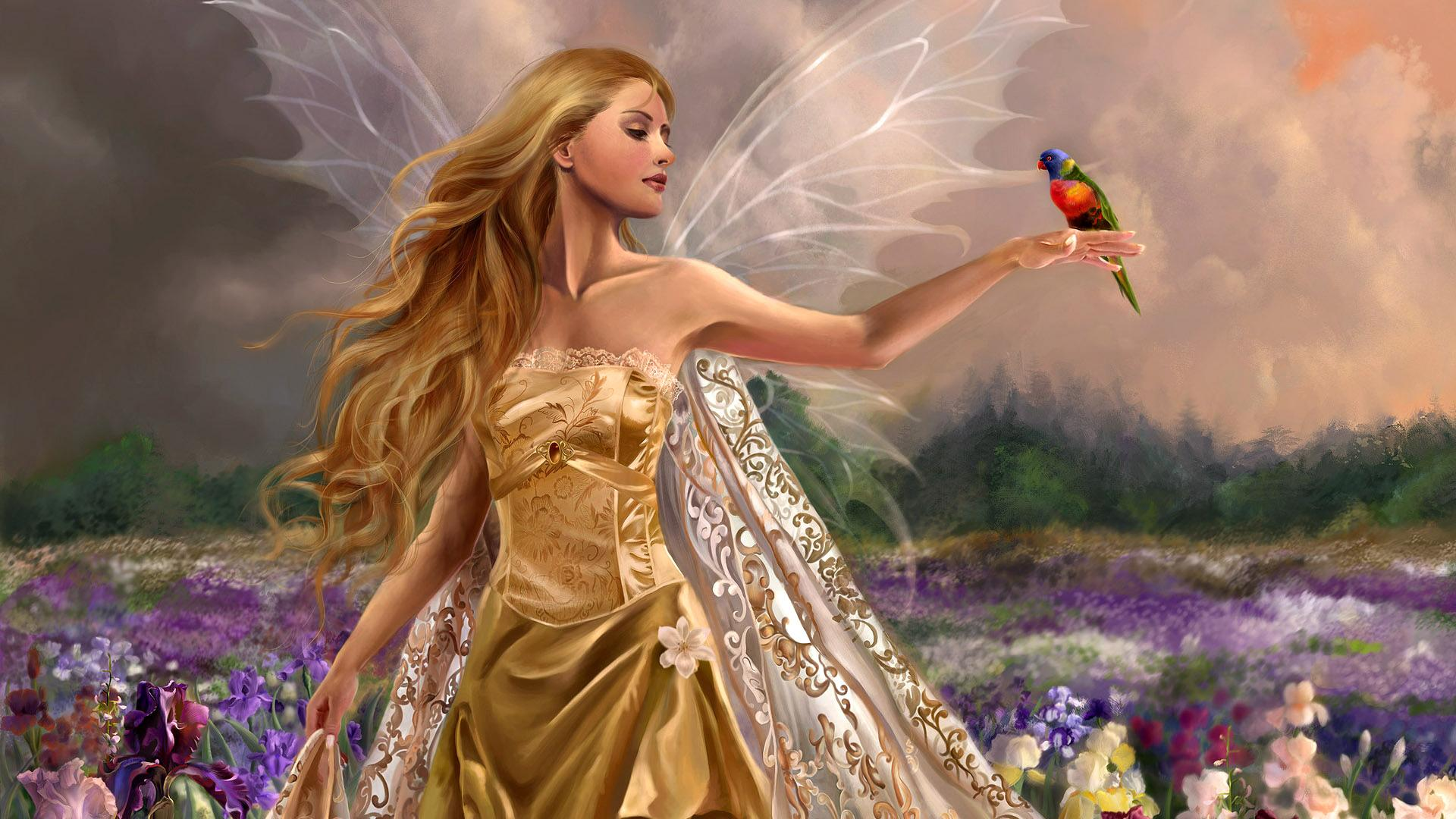 Fairy Backgrounds on Wallpapers Vista