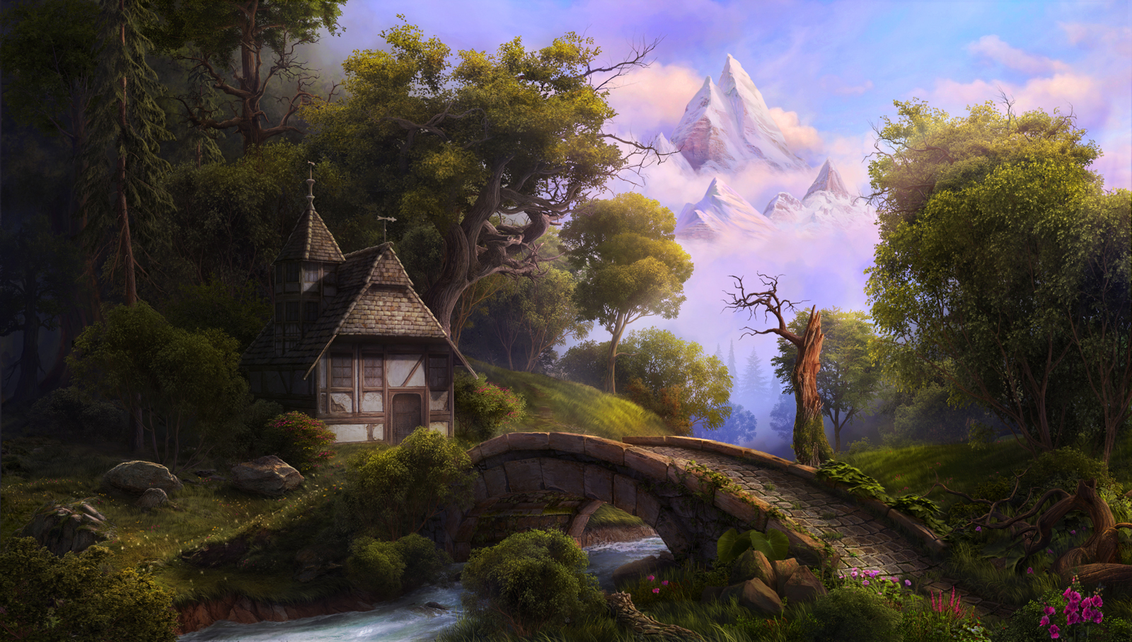 Nice wallpapers Fairy Tale 1600x907px