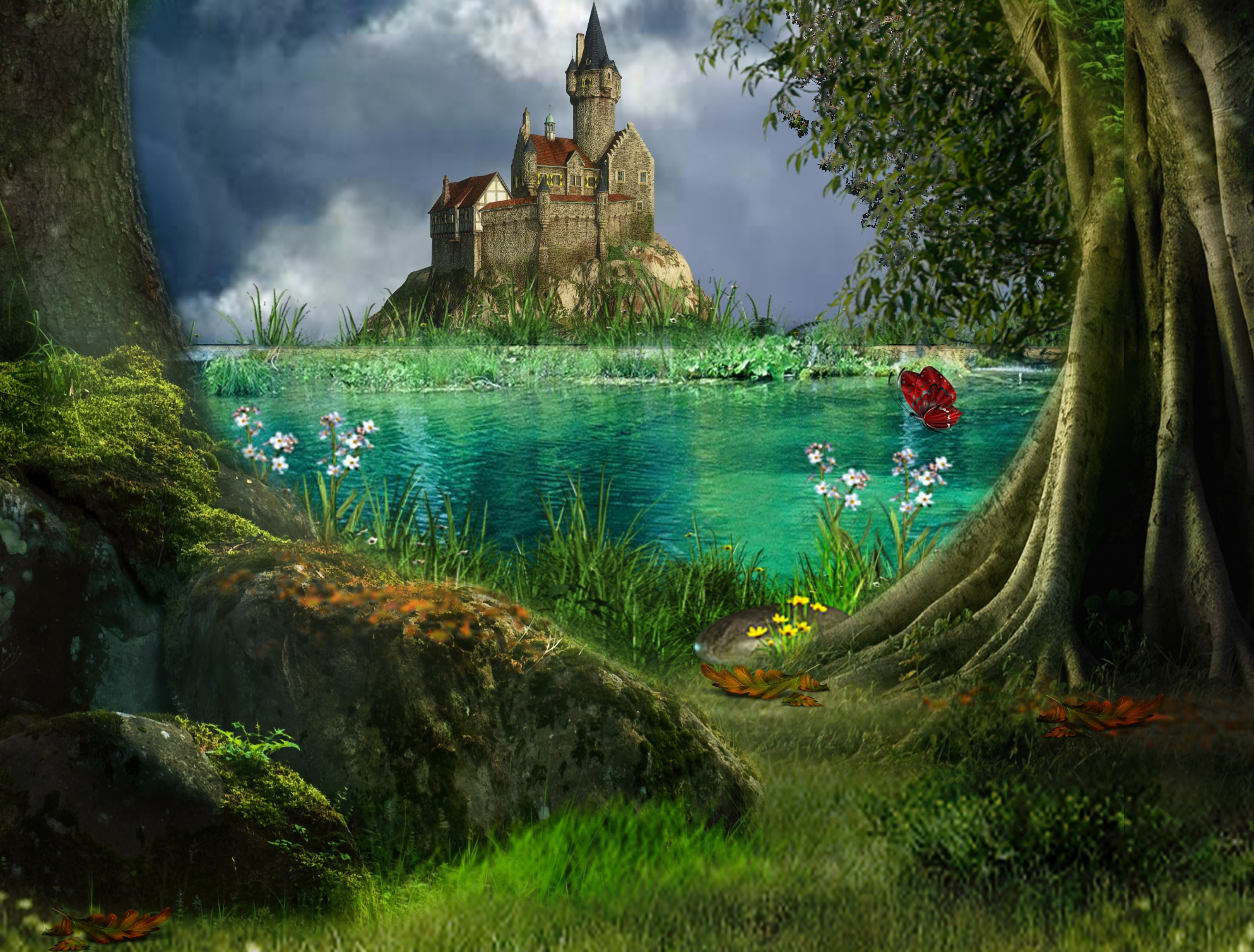 Fairy Tale Backgrounds, Compatible - PC, Mobile, Gadgets| 1987x1509 px