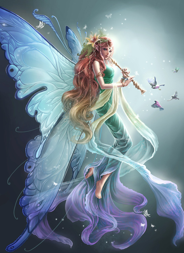 Nice wallpapers Fairy 640x880px