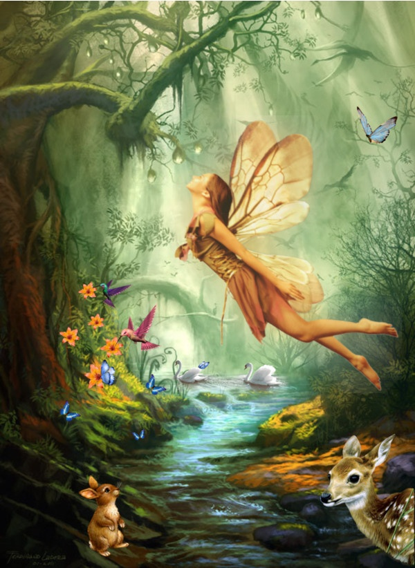 HQ Fairy Wallpapers | File 182.07Kb