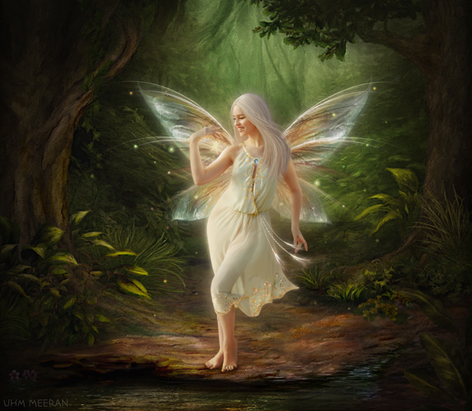 Nice wallpapers Fairy 674x587px