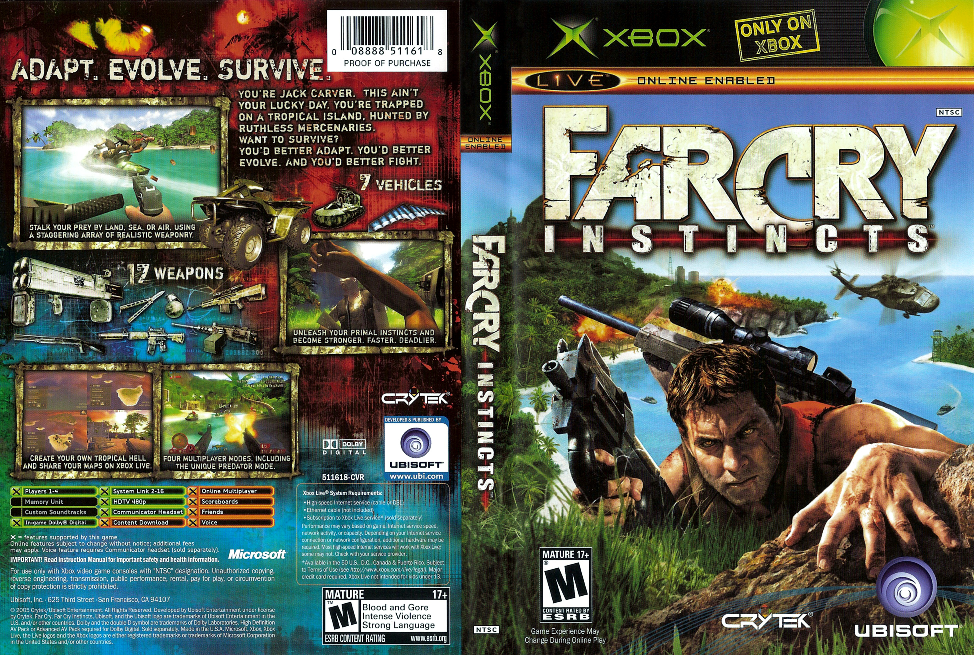 Most Viewed Far Cry Instincts Wallpapers 4k Wallpapers