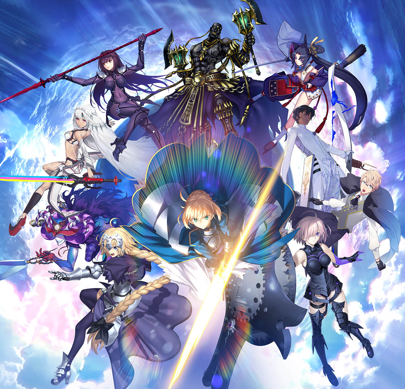 Fate Grand Order Wallpapers Anime Hq Fate Grand Order Pictures
