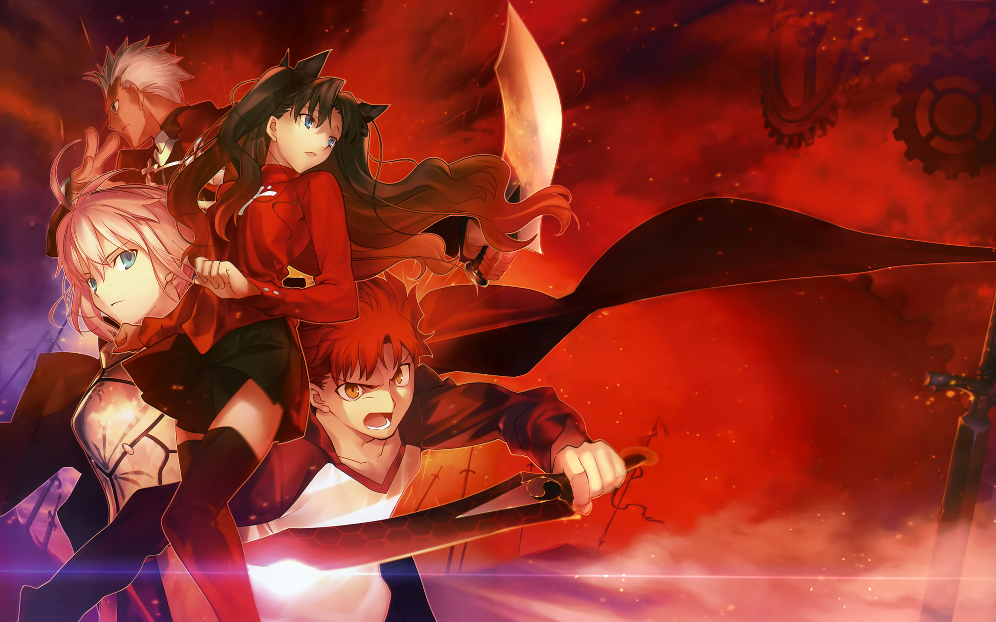 Fate Stay Night Movie Heaven S Feel Wallpapers Anime Hq Fate