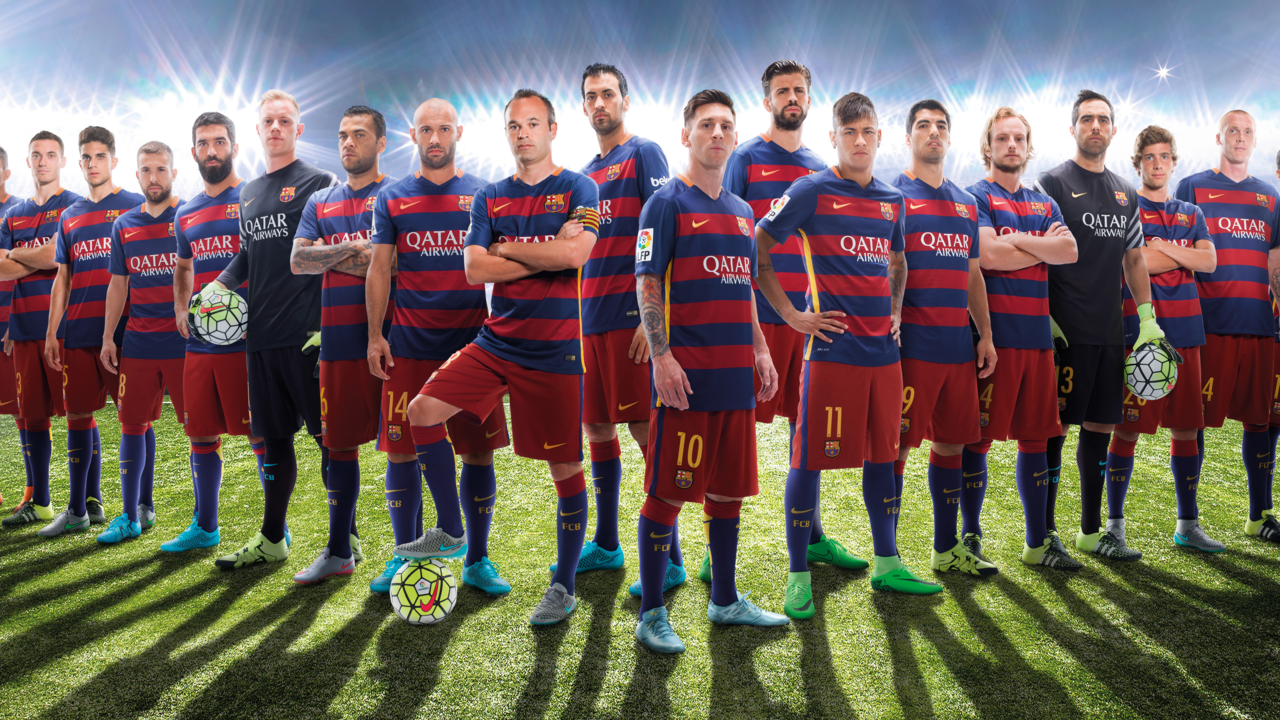 High Resolution Wallpaper   FC Barcelona 1280x720 px