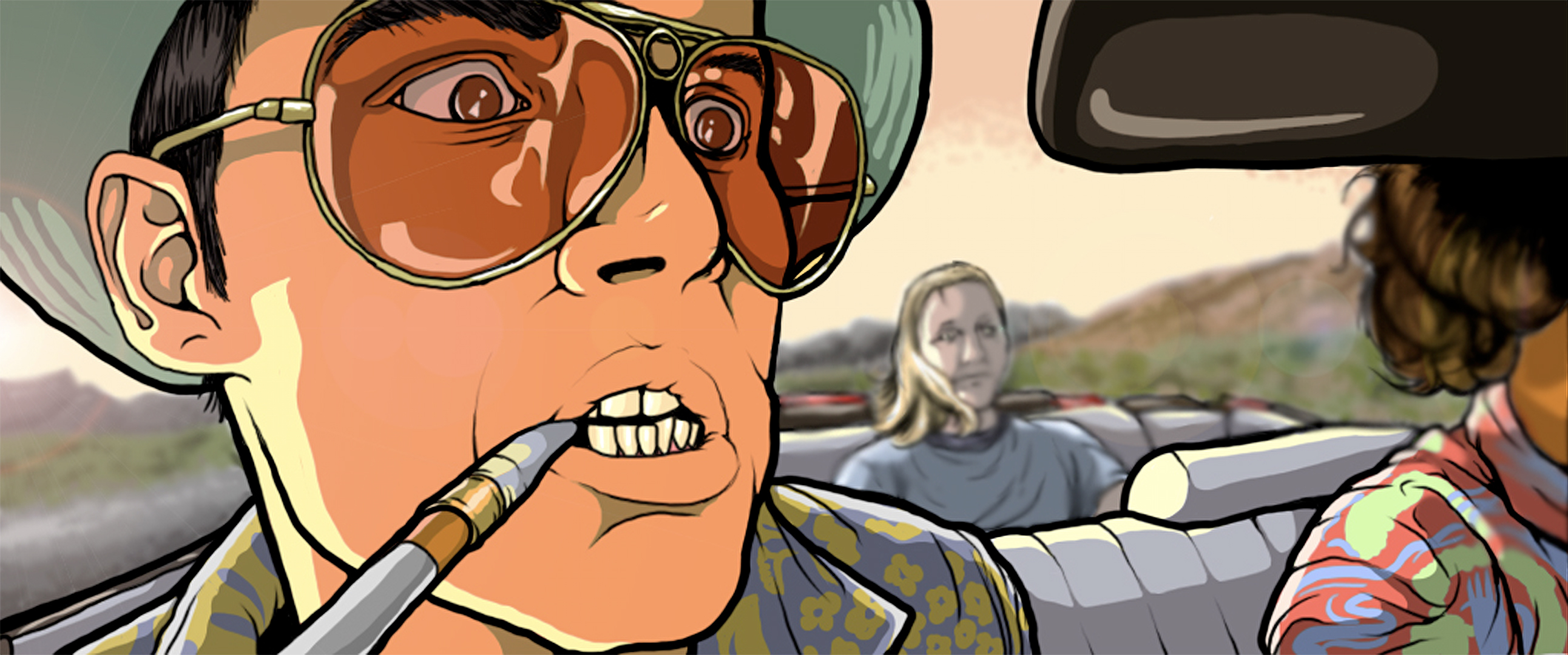HQ Fear And Loathing Wallpapers | File 1314.67Kb