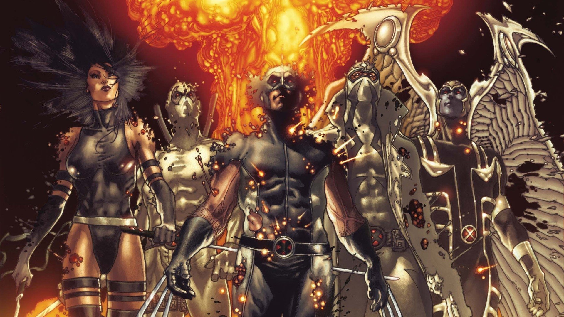 Amazing Fear Itself: Uncanny X-force Pictures & Backgrounds