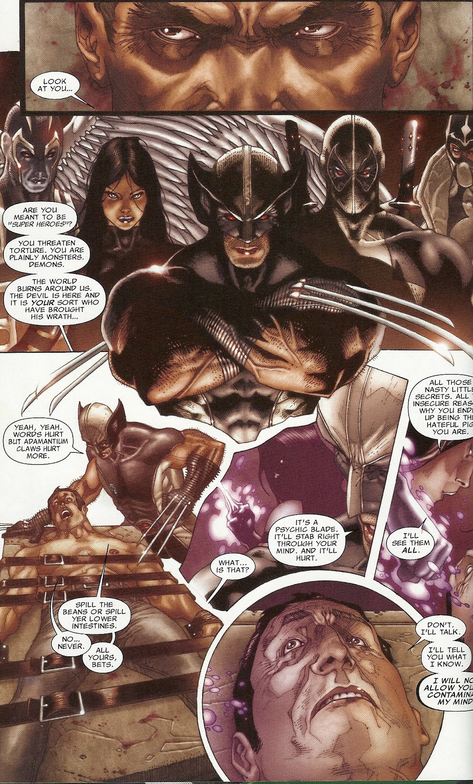 Fear Itself: Uncanny X-force Pics, Comics Collection