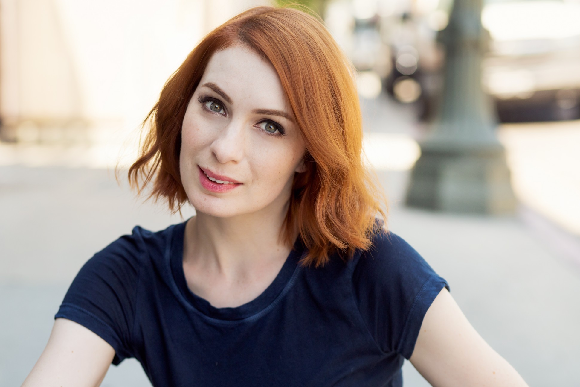 Nice Images Collection: Felicia Day Desktop Wallpapers