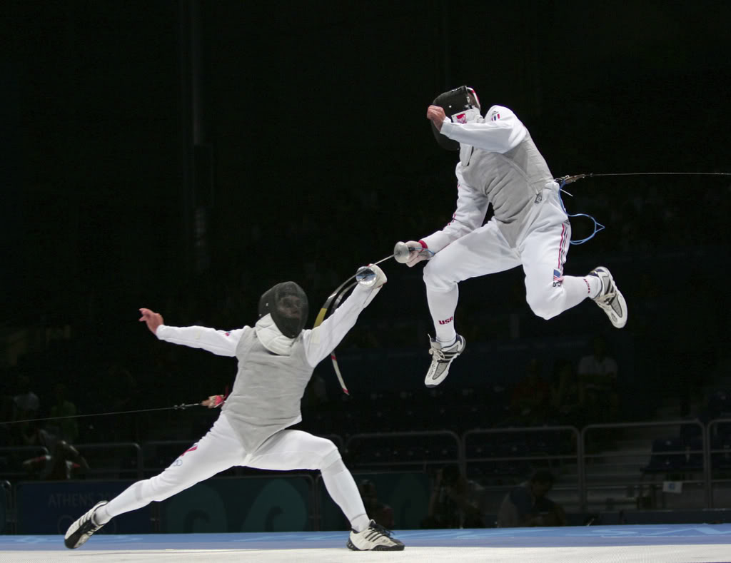 Nice Images Collection: Fencing Desktop Wallpapers