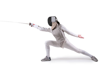 HD Quality Wallpaper | Collection: Sports, 425x282 Fencing