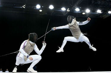 HD Quality Wallpaper | Collection: Sports, 375x246 Fencing