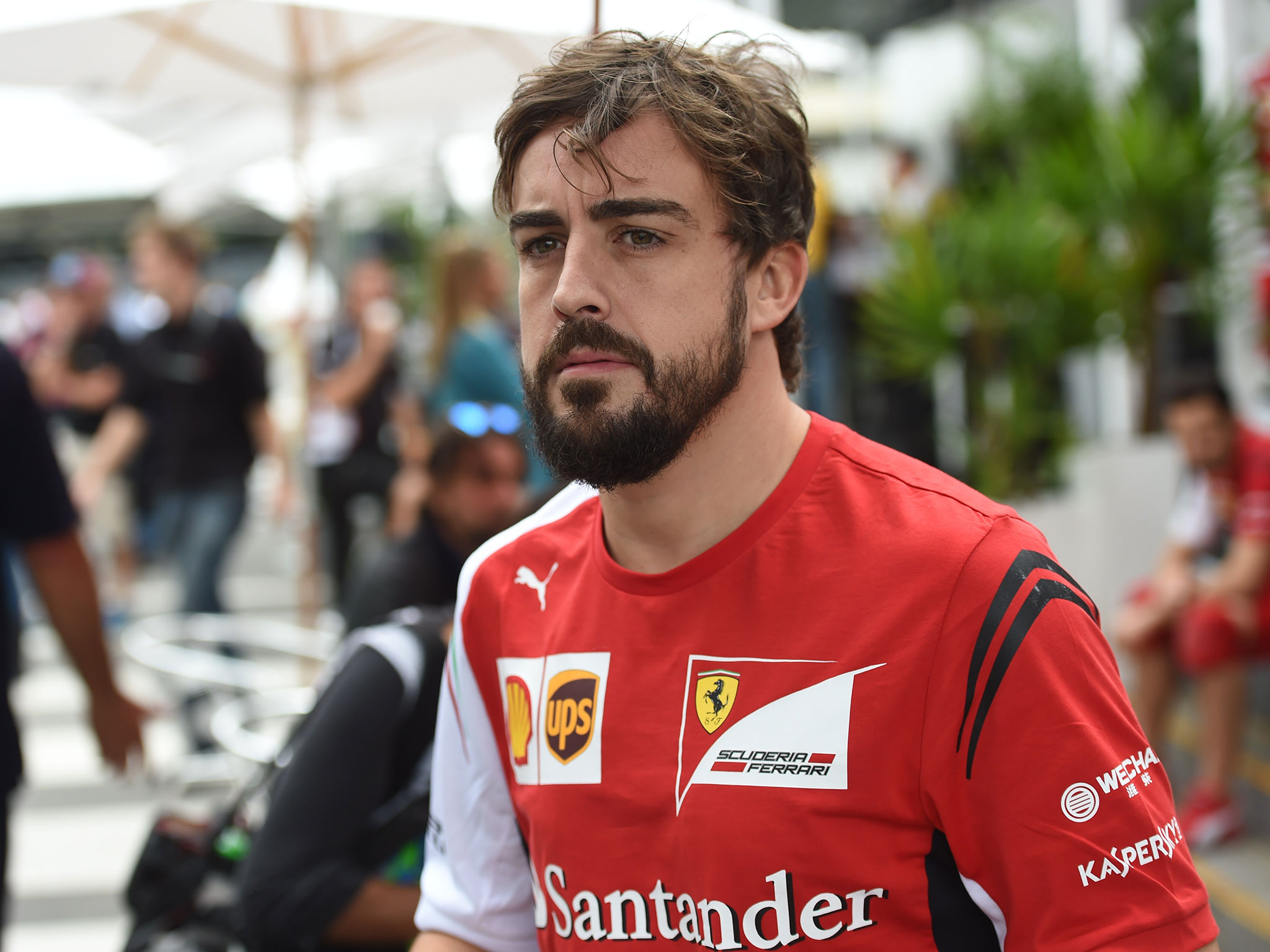 HD Quality Wallpaper | Collection: Sports, 2048x1536 Fernando Alonso