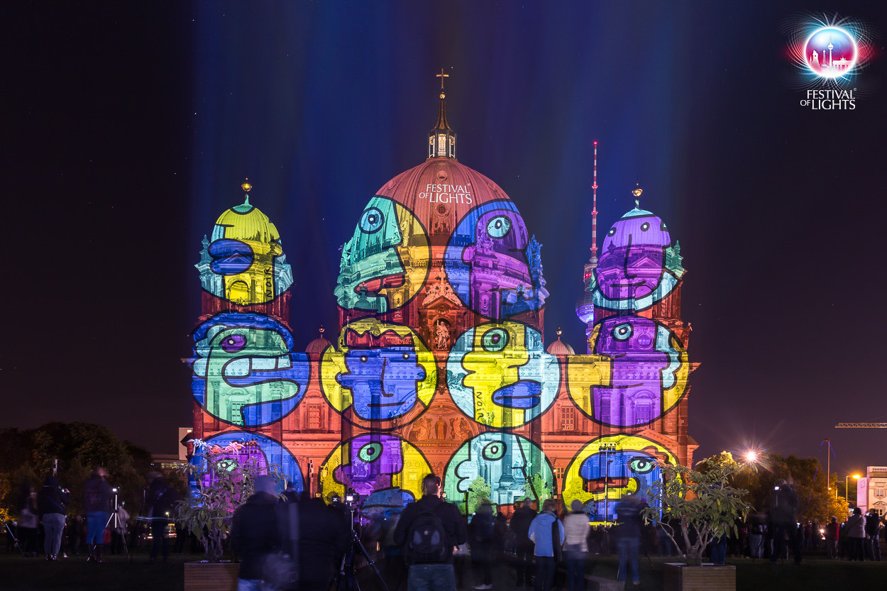 HD Quality Wallpaper | Collection: Artistic, 1250x833 Festival Of Lights - Berlin