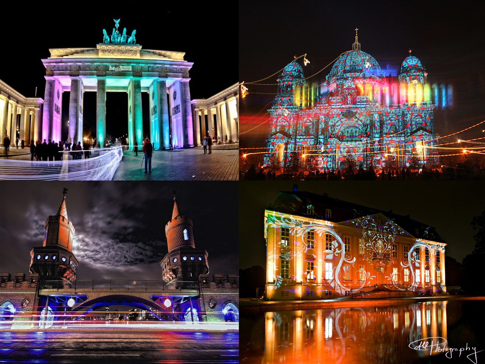 Nice Images Collection: Festival Of Lights - Berlin Desktop Wallpapers