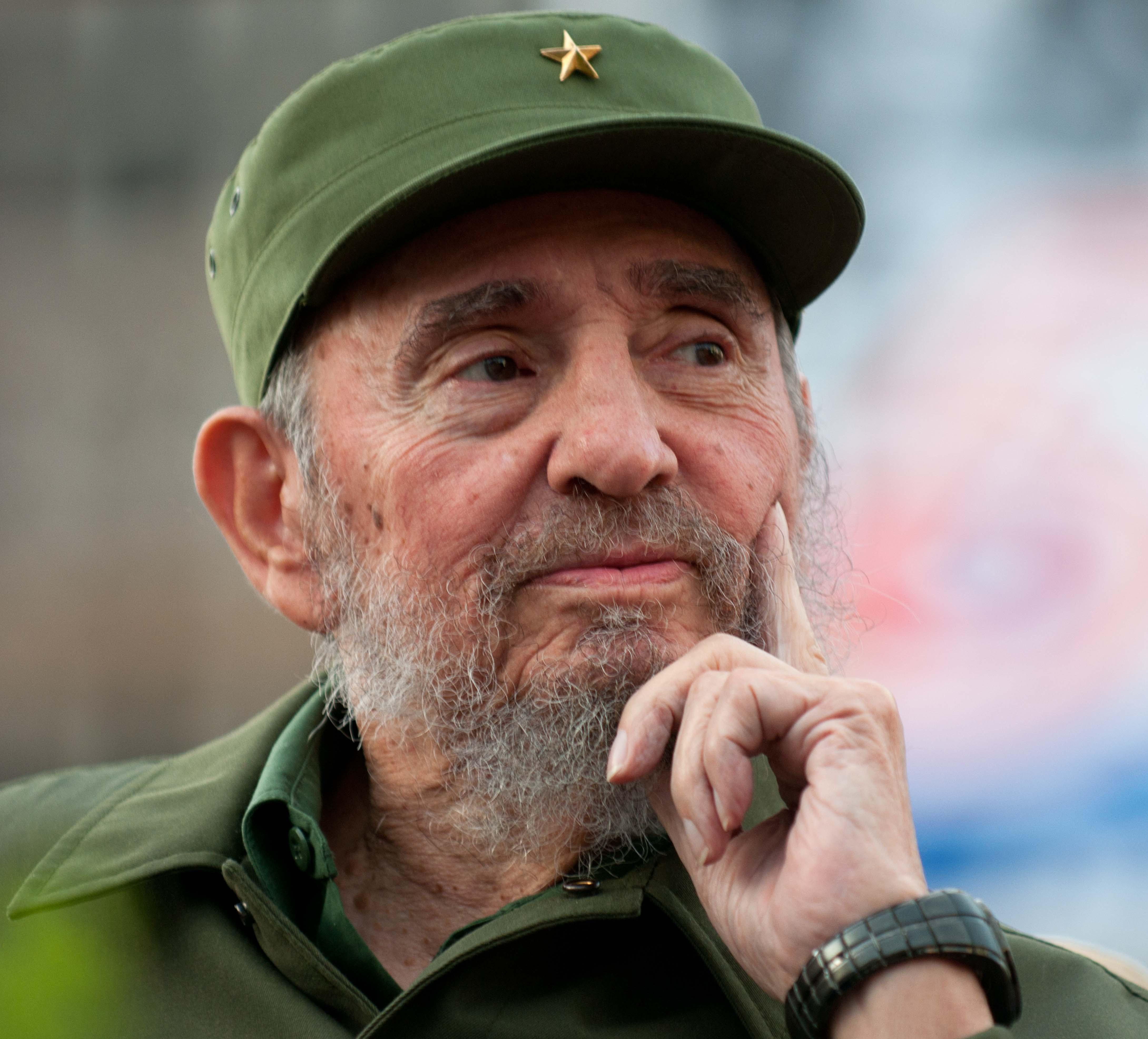 HD Quality Wallpaper | Collection: Men, 4359x3946 Fidel Castro