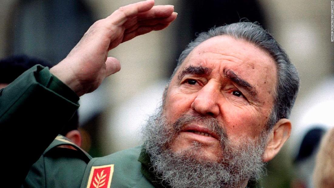 HD Quality Wallpaper | Collection: Men, 1100x619 Fidel Castro