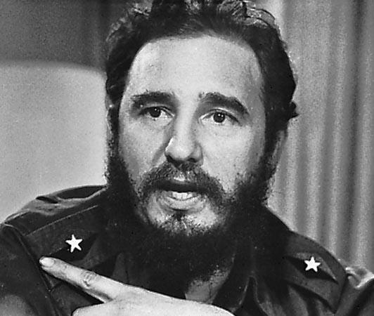 HD Quality Wallpaper | Collection: Men, 532x450 Fidel Castro