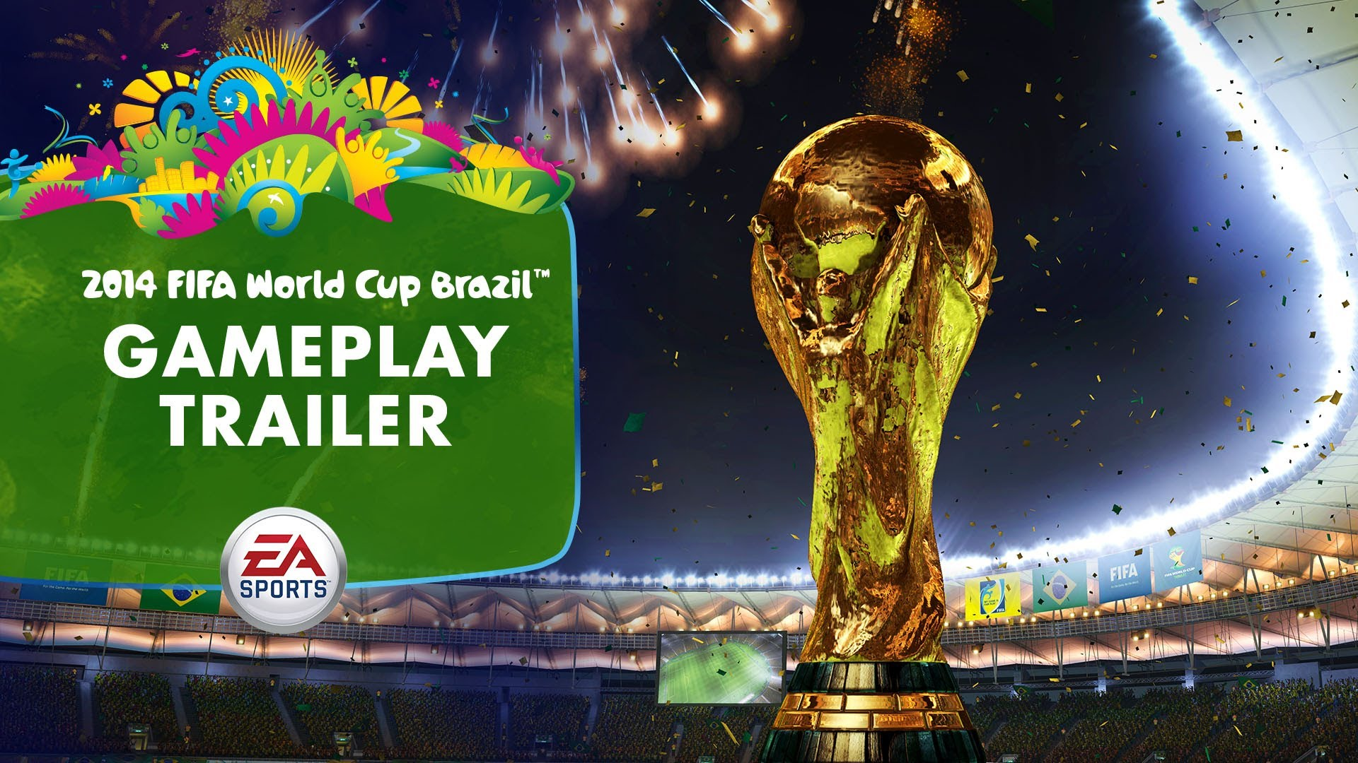 HD Quality Wallpaper | Collection: Sports, 1920x1080 Fifa World Cup Brazil 2014