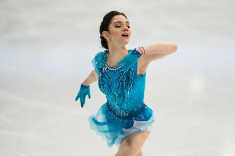 HD Quality Wallpaper | Collection: Sports, 480x320 Figure Skating