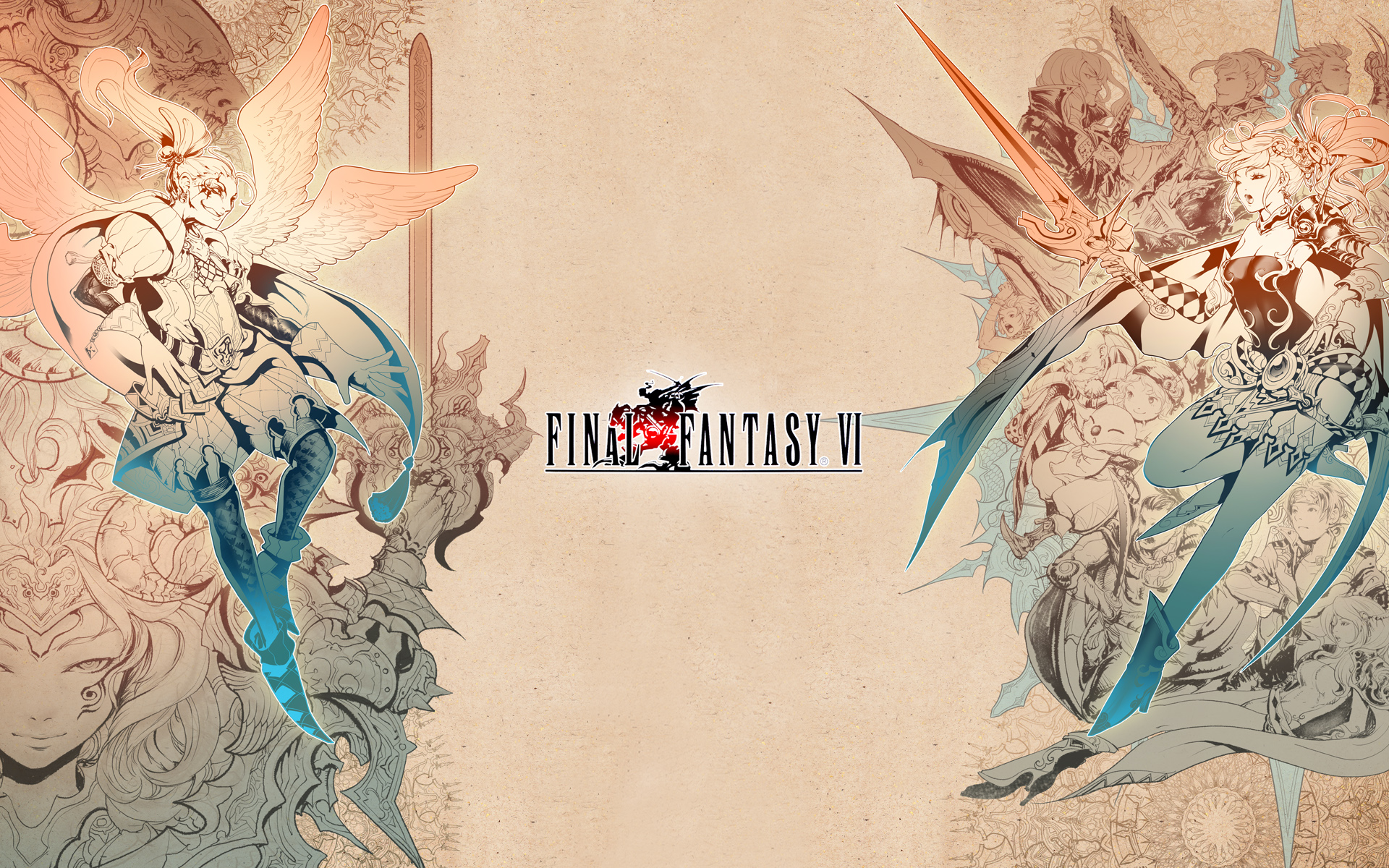 Final Fantasy Vi Wallpapers Video Game Hq Final Fantasy Vi Pictures 4k Wallpapers 2019