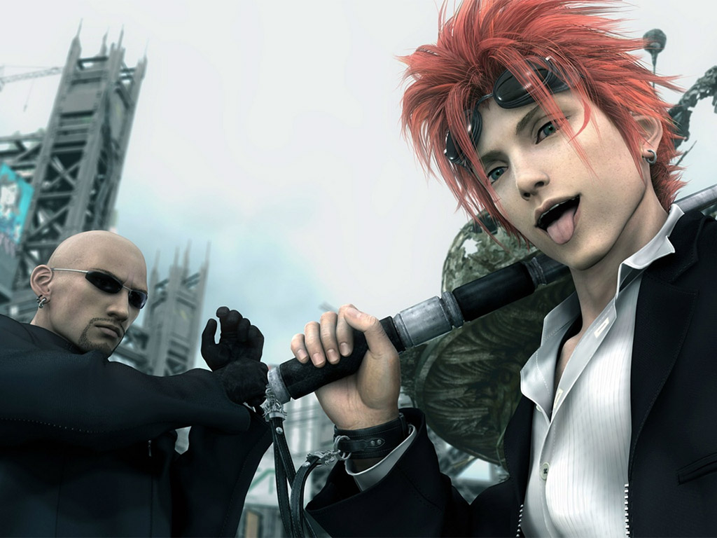 Final Fantasy Vii Advent Children Wallpapers Anime Hq Final