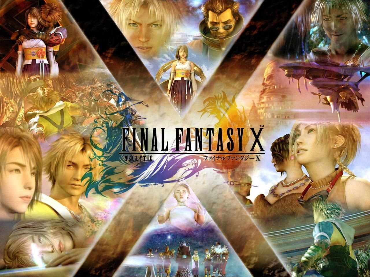 Final Fantasy X Wallpapers Video Game Hq Final Fantasy X