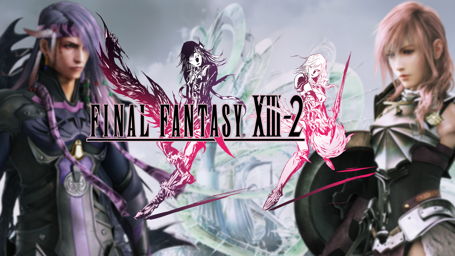 Final Fantasy Xiii 2 Wallpapers Video Game Hq Final Fantasy Xiii