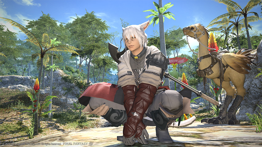 HD Quality Wallpaper | Collection: Video Game, 853x480 Final Fantasy XIV