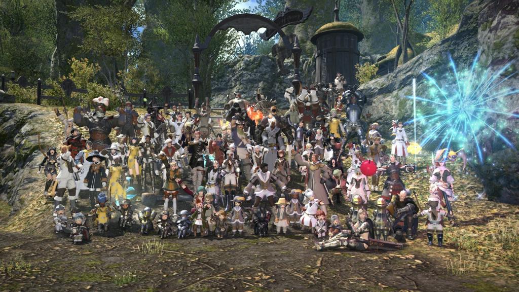Final Fantasy XIV Pics, Video Game Collection